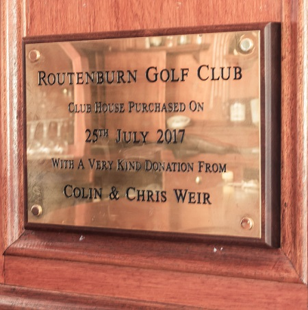 Routenburn golf clubhouse